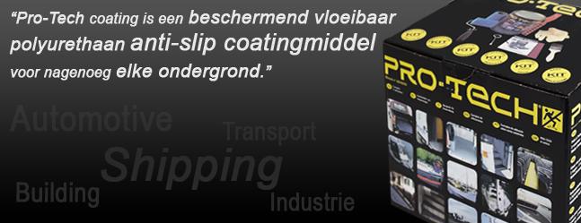Pro-Tech Anti-slip coating, beschermend, flexibel, coating voor vele toepassingen!